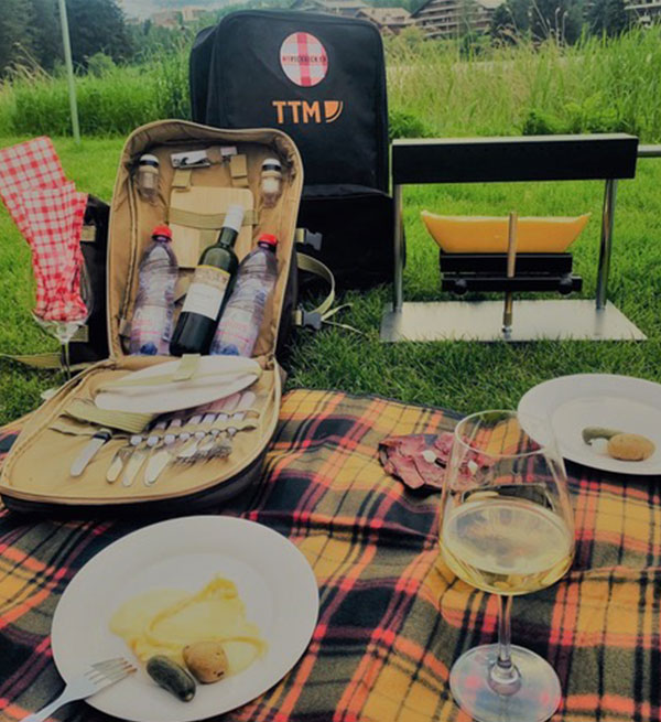 Raclette picknick